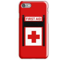 Grabbing first aid! iPhone Case/Skin