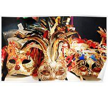 venitian masks Poster