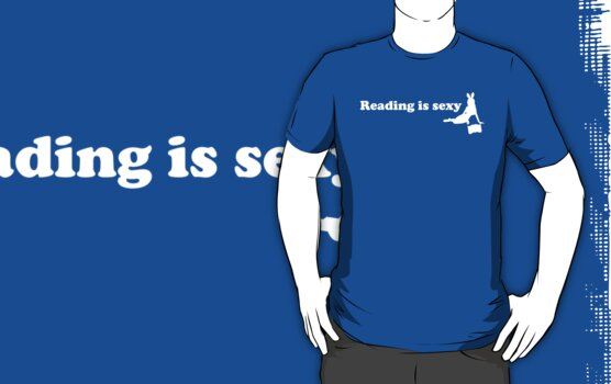 Reading is sexy by WAMTEES