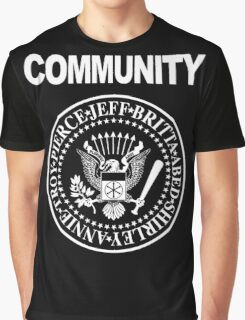 Community - Great Seal of the Study Group Graphic T-Shirt