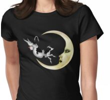 The Cow Jumped Over The Moon Womens Fitted T-Shirt