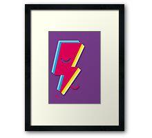 Ziggy minimal Framed Print
