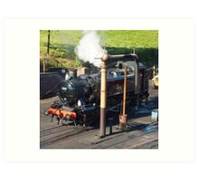 Severn Valley Railway Locomotive 1501 at Bridgnorth Art Print
