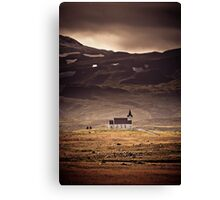 Church of Snaefelesness Canvas Print