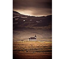 Church of Snaefelesness Photographic Print