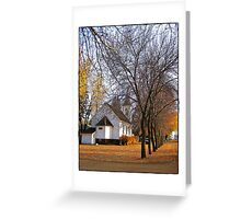 Beneath the Towering Trees Greeting Card