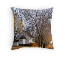 Beneath the Towering Trees Throw Pillow