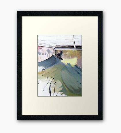 lightshadow Framed Print