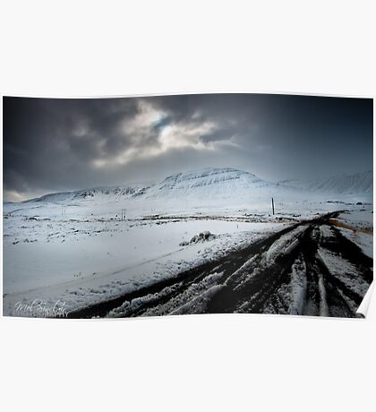 Surrounded By Snow Poster