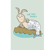 Mysteries of The Deep 1 - The Mer-Rabbit Photographic Print