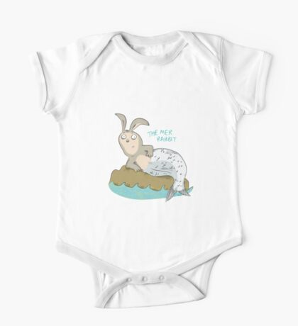 Mysteries of The Deep 1 - The Mer-Rabbit One Piece - Short Sleeve
