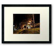 Broken Bridge, Puente Roto, Cuenca, Ecuador Framed Print