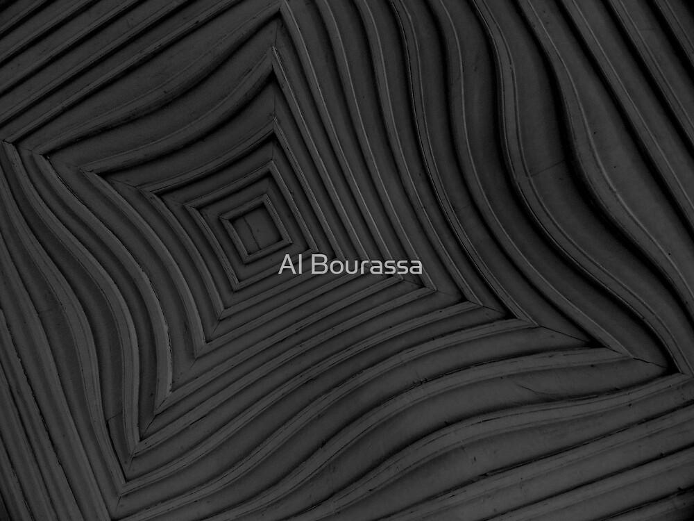 Drunk Ceiling by Al Bourassa