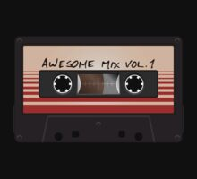Awesome Mix Vol. 1 Kids Tee