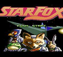 Starfox 8 bit by 10mintolanding