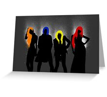 2NE1 Card 2 (without lips) Greeting Card