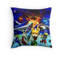 3D Videogame Throw Pillow