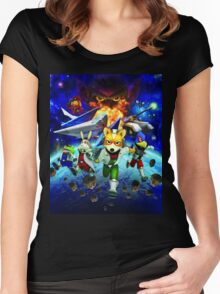 3D Videogame Women's Fitted Scoop T-Shirt