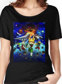 3D Videogame Women's Relaxed Fit T-Shirt