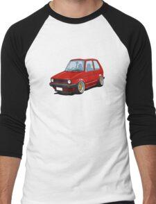 Cartoon MK1 Golf Men's Baseball ¾ T-Shirt