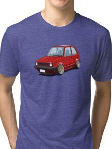 Cartoon MK1 Golf Tri-blend T-Shirt