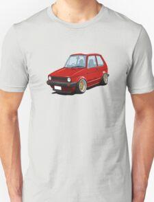 Cartoon MK1 Golf T-Shirt