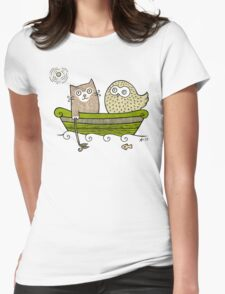 Pea Green Boat  T-Shirt