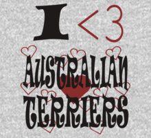 I <3 Australian Terriers by veganese