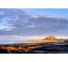 Bamburgh Castle - Northumberland Photographic Print