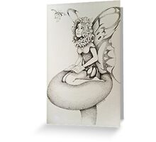 Garden Faerie Greeting Card