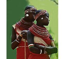 Portrait of Samburu Girls II Photographic Print