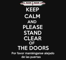 Please stand clear of the doors One Piece - Long Sleeve
