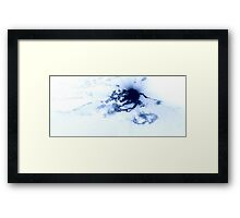 Abstract in Blues XXI Framed Print