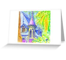 chalet in sintra Greeting Card