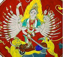 Mahishamardini by bharath
