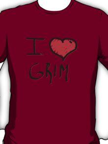 i love grim heart  T-Shirt