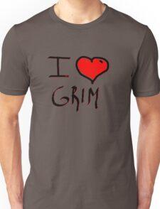 i love grim heart  Unisex T-Shirt