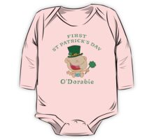 First St Patrick's Day One Piece - Long Sleeve