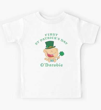 First St Patrick's Day Kids Tee