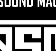 Pitch Perfect 2 - DAS SOUND MACHINE Sticker