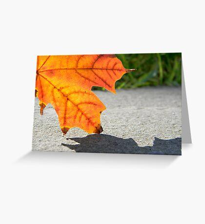 Leaf 2 Greeting Card
