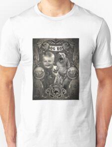 Dog Boy Carnival Banner T-Shirt
