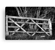Forgotten Gate Canvas Print