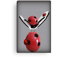 """""""Lucky Ladybug"""" Picture/Card Canvas Print"""