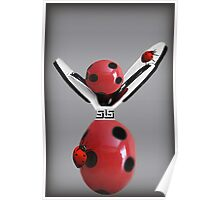 """""""Lucky Ladybug"""" Picture/Card Poster"""
