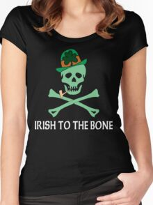 Irish To The Bone Women's Fitted Scoop T-Shirt
