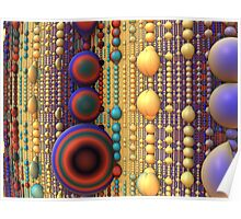 Bead Curtain Poster