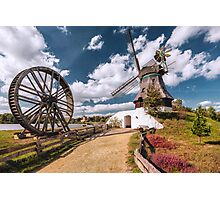 Windmill Immanuel (Gifhorn) Photographic Print