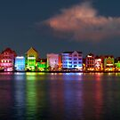 Curacao at Night by Marylee Pope