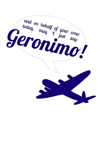 Geronimo! by paramounthats